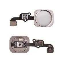 Obvod tlačítka Home Button + kovový rámeček + tlačítko Home Button pro Apple iPhone 6S / 6S Plus - stříbrné (Silver) kvalita A+