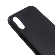 Kryt pro Apple iPhone X - ultratenký - gumový - černý