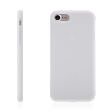 Kryt pro Apple iPhone 7 / 8 gumový protiskluzový - bílý