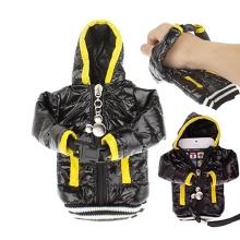 Ochranné pouzdro černá bunda s kapucí se šňůrkou na krk pro Apple iPhone / iPod a podobná zařízení