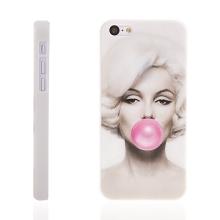 Plastový kryt pro Apple iPhone 5C - Marilyn Monroe - bílý