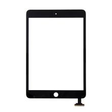 Přední dotykové sklo (touch screen) pro Apple iPad mini / mini 2 (Retina) bez IC konektoru - černé - kvalita A+