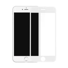 Baseus 3D tvrzené sklo (Tempered Glass) pro Apple iPhone 7 - Anti-blue-ray - bílý rámeček - 0,23mm