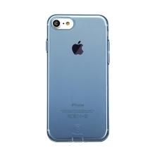 Kryt Baseus pro Apple iPhone 7 / 8 gumový / antiprachové záslepky - modrý průhledný