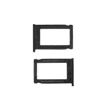 Rámeček / šuplík na SIM pro Apple iPhone 3G / 3 GS - černý - kvalita A