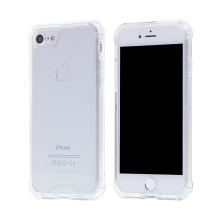 Kryt pro Apple iPhone 7 / 8 - pevný - plastový / gumový - průhledný