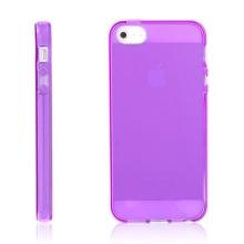 Kryt pro Apple iPhone 5 / 5S / SE - gumový - fialový