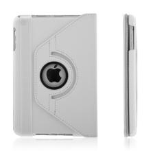 Pouzdro / kryt pro Apple iPad mini / mini 2 / mini 3 - 360° otočný držák - bílý