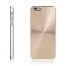 Plasto-hliníkový kryt pro Apple iPhone 6 / 6S - zlatý