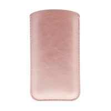 Pouzdro / obal SOYAN pro Apple iPhone 6 / 7 - umělá kůže - Rose Gold