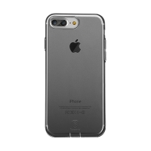Kryt Baseus pro Apple iPhone 7 Plus / 8 Plus gumový / antiprachové záslepky - průhledný