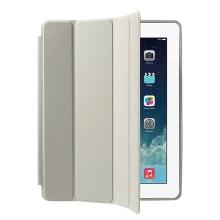 Pouzdro / kryt pro Apple iPad 2 / 3 / 4 - funkce chytrého uspání + stojánek - béžové