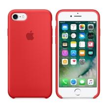 Originální kryt pro Apple iPhone 7 / 8 - silikonový - červený kaméliový
