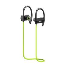 Sluchátka HAWEEL sportovní Bluetooth 4.1 s ovládáním a mikrofonem - zelená
