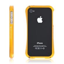 Kvalitní hliníkový bumper Cleave pro Apple iPhone 4S - zlatý