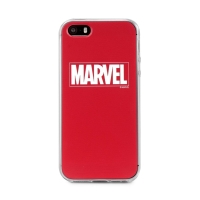 Kryt MARVEL pro Apple iPhone 5 / 5S / SE - gumový
