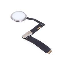 """Obvod tlačítka Home Button + připojovací flex + tlačítko Home Button pro Apple iPad Pro 9,7"""" - bílé / stříbrné - kvalita A+"""