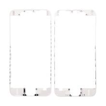 Plastový fixační rámeček pro přední panel (touch screen) Apple iPhone 6 - bílý - kvalita A