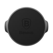 Držák BASEUS magnetický do auta na palubní desku - nalepovací - černý