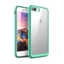 Kryt pro Apple iPhone 7 Plus / 8 Plus - odolné hrany - plastový / gumový - průhledný / zelený