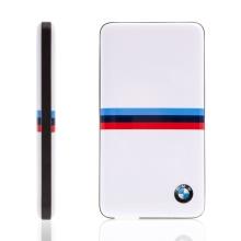 Externí baterie / power bank BMW Tricolor Stripes 4800mAh - bílá