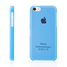 Ultra tenký ochranný kryt pro Apple iPhone 5C (tl. 0,3 mm) - plastový - matný - modrý