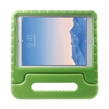 Ochranné pěnové pouzdro pro děti na Apple iPad Air 2 s rukojetí / stojánkem - zelené
