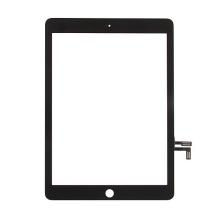 Přední dotykové sklo (touch screen) pro Apple iPad Air 1.gen. / iPad 9,7 (2017) - černý rámeček - kvalita A+