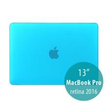 Obal / kryt pro MacBook Pro 13 Retina 2016 / 2017 (A1706, A1708) - plastový - tmavě modrý
