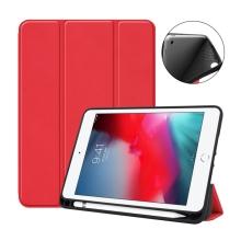 Pouzdro / kryt pro Apple iPad mini 4 / mini 5 - funkce chytrého uspání - gumové - červené