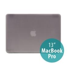 Tenký ochranný plastový obal pro Apple MacBook Pro 13 (model A1278) - matný - šedý