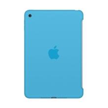 Originální kryt pro Apple iPad mini 4 - výřez pro Smart Cover - silikonový - světle modrý