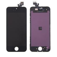 LCD panel + dotykové sklo (touch screen digitizér) pro Apple iPhone 5 - černý - kvalita A