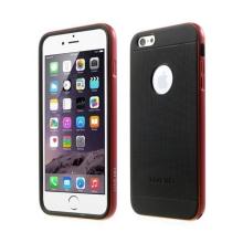 Gumové kryty LOVE MEI AEGIS (sada 2ks) pro Apple iPhone 6 / 6S + červený oddělitelný rámeček