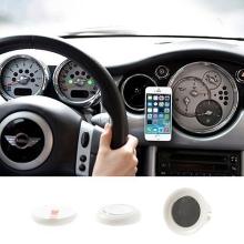 Univerzální magnetický držák do automobilu s přichycením na ventilační mřížku pro Apple iPhone a další zařízení - bílý