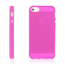 Kryt pro Apple iPhone 5 / 5S / SE - gumový - růžový