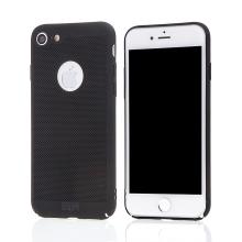 Kryt MOFi pro Apple iPhone 7 / 8 - perforovaný / s otvory - plastový - černý
