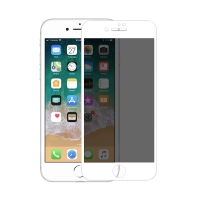 Tvrzené sklo (Tempered Glass) Nillkin 3D AP+ Max pro Apple iPhone 7 Plus / 8 Plus - antispy / privacy - bílé - 0,33mm