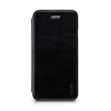 Elegantní flipové kožené pouzdro HOCO pro Apple iPhone 6 / 6S - černé