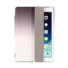 Pouzdro / kryt pro Apple iPad 9,7 (2017-2018) - odnímatelný Smart Cover - stojánek - plastové - černé / šedé