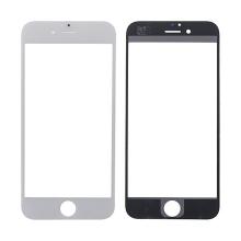 Náhradní přední sklo pro Apple iPhone 6 - bílý rámeček - kvalita A