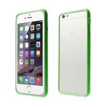 Plasto-gumový rámeček / bumper pro Apple iPhone 6 Plus / 6S Plus - zelený