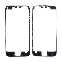 Plastový fixační rámeček pro přední panel (touch screen) Apple iPhone 6 - černý - kvalita A
