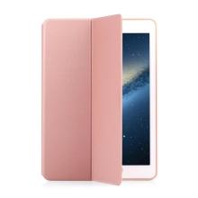 Pouzdro TOTU Moon Series pro Apple iPad Pro 9,7 - stojánek a funkce chytrého uspání - růžově zlaté (Rose Gold)