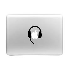 Samolepka ENKAY Hat-Prince na Apple MacBook - sluchátka