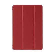 Plastové pouzdro / kryt + Smart Cover pro Apple iPad mini 4 - funkce chytrého uspání a probuzení - červené