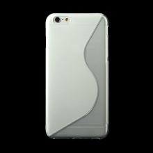 Kryt S line pro Apple iPhone 6 Plus / 6S Plus gumový protiskluzový - průhledný