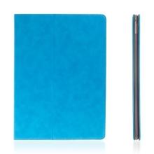 Pouzdro pro Apple iPad Pro 12,9 - integrovaný stojánek a prostor na doklady - světle modré