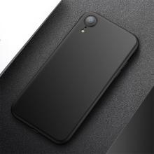 Kryt CAFELE pro Apple iPhone Xr - ultratenký - plastový - černý