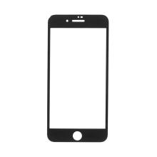 Tvrzené sklo (Tempered Glass) AMORUS pro Apple iPhone 8 Plus - na přední část - 3D hrana - černý rámeček - 0,3mm